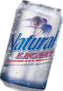 natty light - taste the rainbow